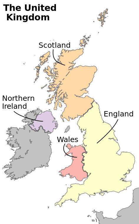 イギリス と イングランドの違い