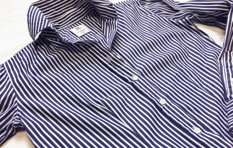 簡単に、シャツのラインを変える方法