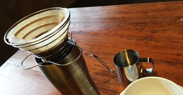 持っていって良かった、旅行用コーヒー道具