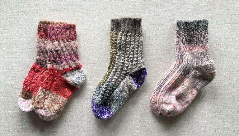 旅の手芸:ベトナム旅行で編んだ靴下