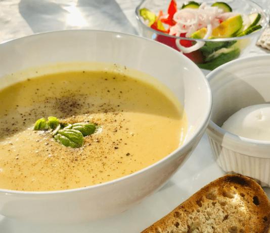 【レシピ】ひよこ豆の缶詰で お豆のスープ(動画あり )