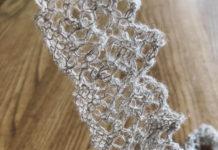 手編みブレードの使い道10選 - 数年前に編んだリネン糸のブレードを見ながら考えた