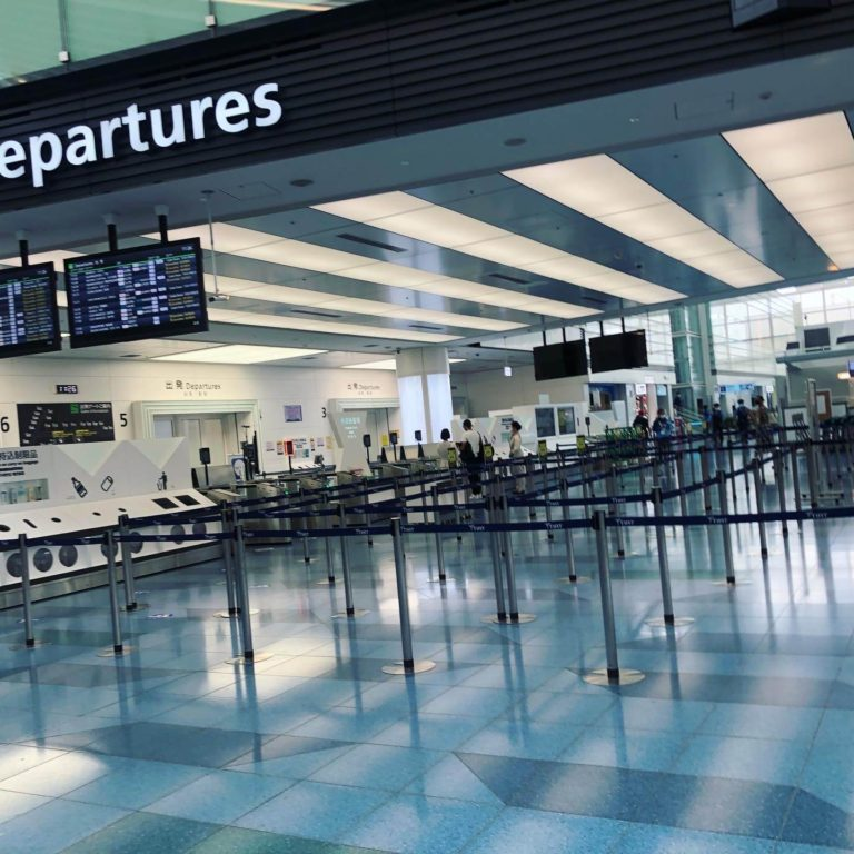 2021年9月 コロナ禍の羽田空港からイギリスへ