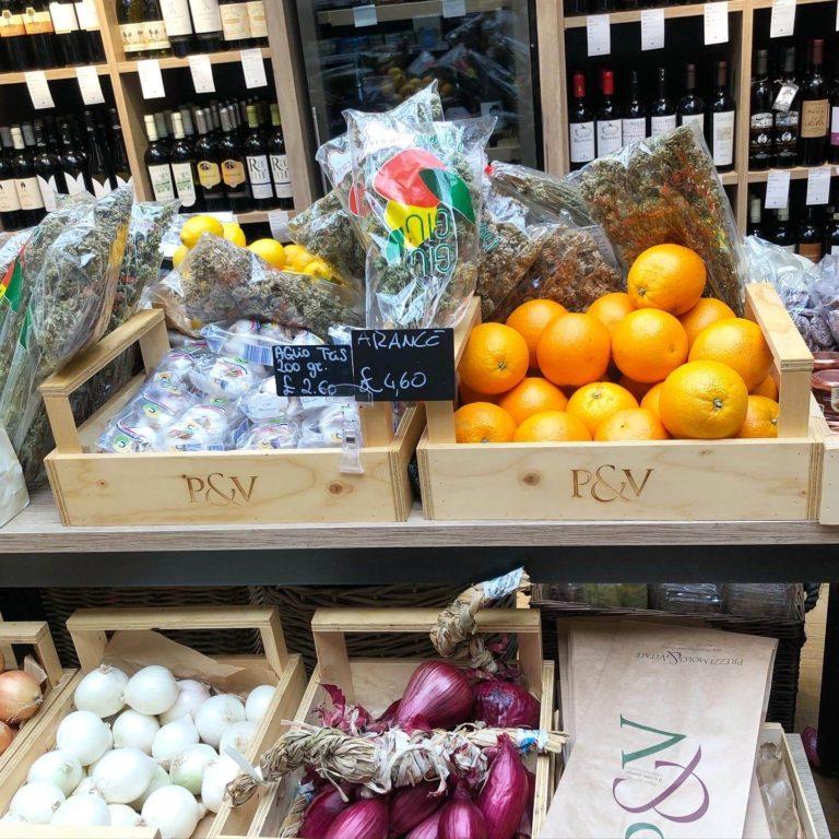 ウィンブルドンにできたP&Vは、イタリア食材の宝庫